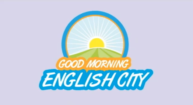 Good Morning English City logo